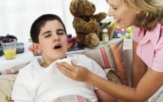 Приступообразный кашель у ребенка ночью