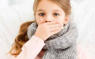 Как убрать сухой кашель у ребенка