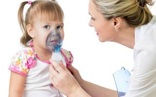 Ингаляция для детей от кашля и насморка