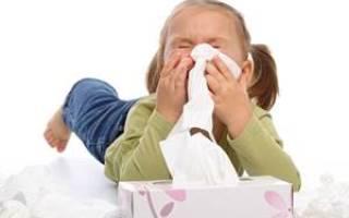 Постоянный насморк у ребенка
