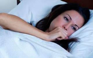 Сильный кашель ночью