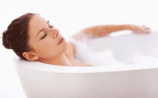Можно ли принимать ванну при кашле