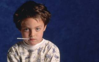 Температура у ребенка без симптомов простуды
