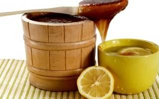 Мед с лимоном от кашля рецепт