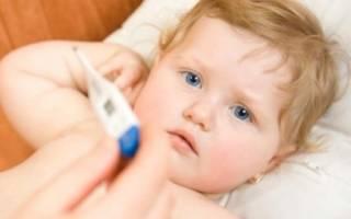 Высокая температура у ребенка без симптомов простуды