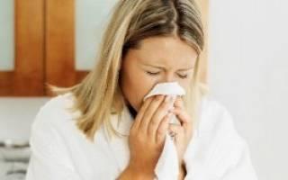 Простуда у кормящей мамы