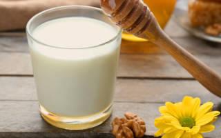 Молоко с медом от кашля ребенку