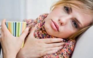 Боль в горле и насморк