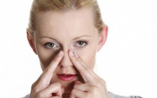 МАССаж при заложенности носа без насморка