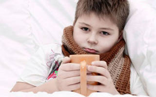 Боль в горле у ребенка чем лечить