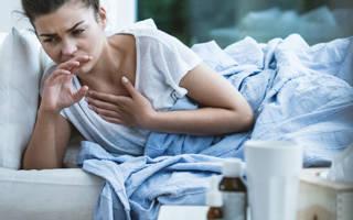 Сухой кашель и температура 37 у взрослого