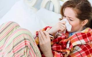 Простуда после зачатия