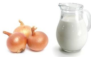 Молоко с луком от кашля отзывы