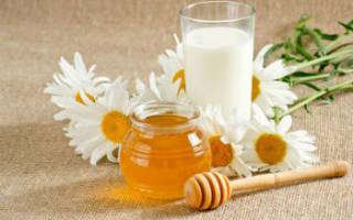 Теплое молоко с медом от кашля