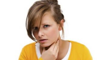 Болит задняя стенка горла чем лечить