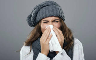 Болит горло заложен нос