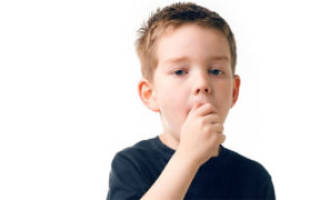 Сухой изнуряющий кашель у ребенка