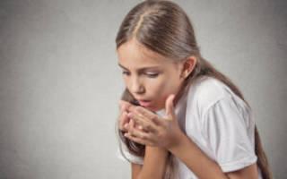 Горловой кашель у ребенка