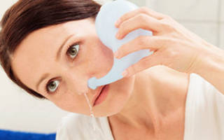 Можно ли промывать нос при отите