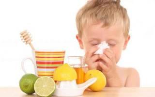 Чай с медом и лимоном при простуде