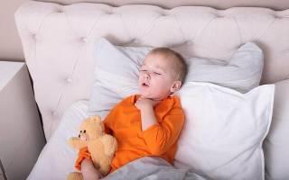 Непрекращающийся кашель у ребенка