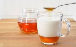 Молоко мед масло сода от кашля