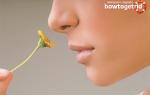 Как быстро вернуть обоняние при насморке