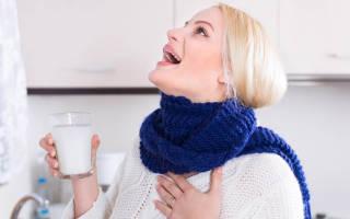 Чем можно полоскать горло при простуде