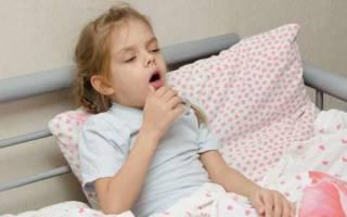 Сухой приступообразный кашель у ребенка без температуры