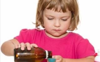 Сироп при бронхите для детей