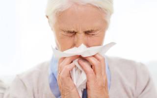 Сильный насморк лечение
