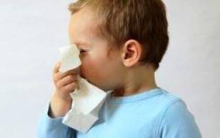 Постоянный насморк у ребенка что делать