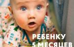Кашель у 5 месячного ребенка без температуры