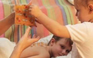 Горчичники при кашле инструкция детям