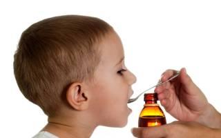 Сироп от простуды для детей