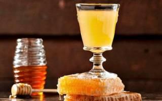 Водка с медом от простуды