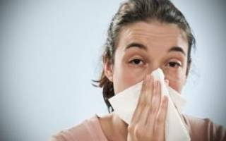 У ребенка заложен нос и кашель