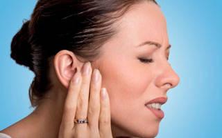 Болит ухо при простуде что делать