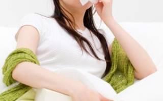 Опасна ли простуда при беременности