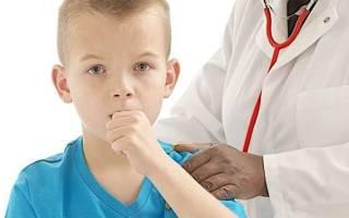 Психогенный кашель у детей