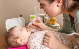 Насморк у 3 месячного ребенка лечение