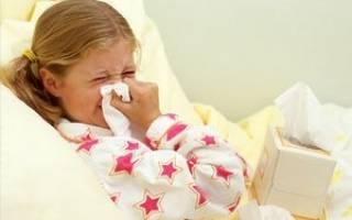 Простуда без температуры лечение