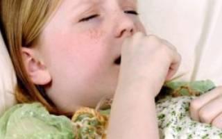 Кашель при аденоидите у ребенка