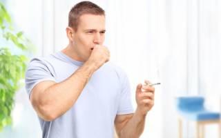 Можно ли курить при кашле