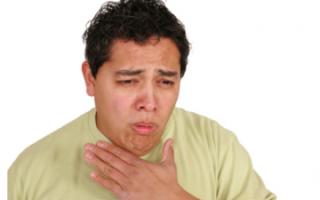Боль в груди и горле