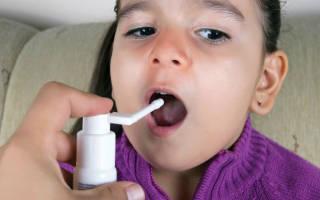 Спрей от кашля для детей