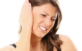 Как снять отек уха при отите