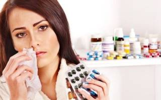 Антибиотики от гайморита список