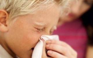 Первые признаки гайморита у детей